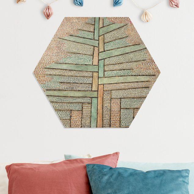 Hexagon Bild Forex - Paul Klee - Kiefer