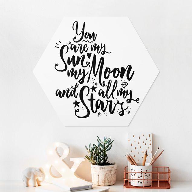 Hexagon Bild Forex - You are my Sun, my Moon and all my Stars