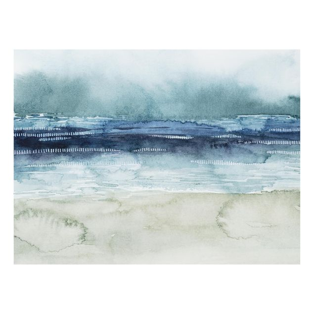 Glas Spritzschutz - Mariner Nebel I - Querformat - 4:3