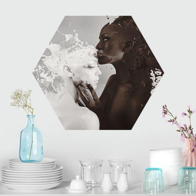 Hexagon Bild Forex - Milch & Kaffee Kuss