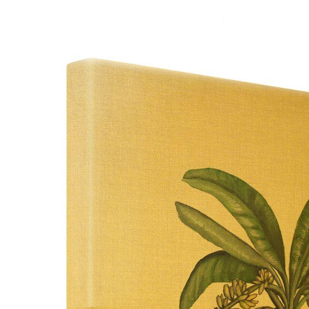 Leinwandbild Gold - Britische Palmen II - Hochformat 3:4