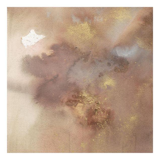 Glas Spritzschutz - Himmelsträumerei I - Quadrat - 1:1