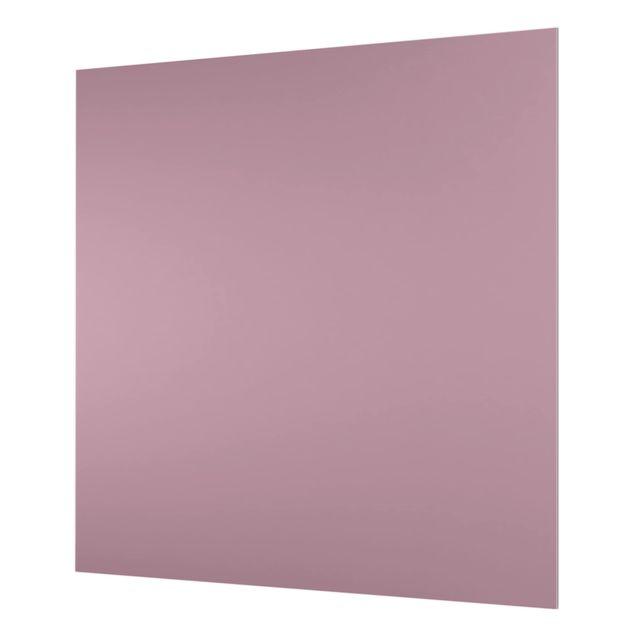 Glas Spritzschutz - Malve - Quadrat - 1:1