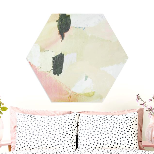 Hexagon Bild Forex - Klangspiel in Fuchsia I