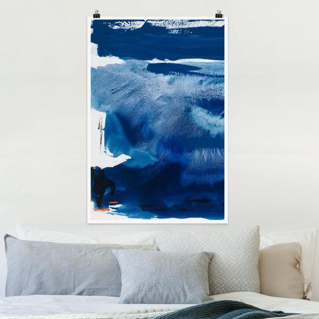 Poster - Tag am Meer I - Hochformat 3:2