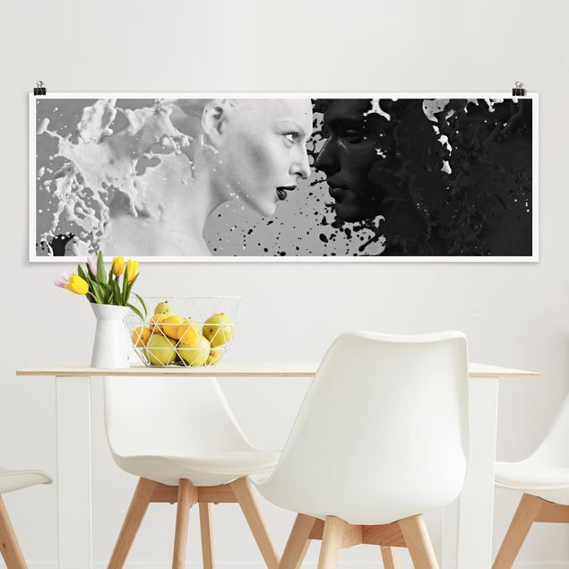 Poster - Milk & Coffee II - Panorama Querformat