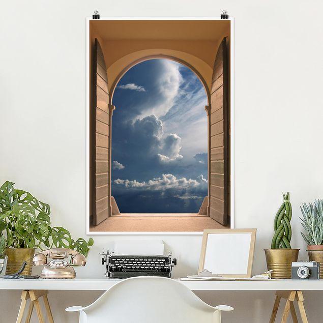Poster - Das Tor zum Himmel - Hochformat 3:2