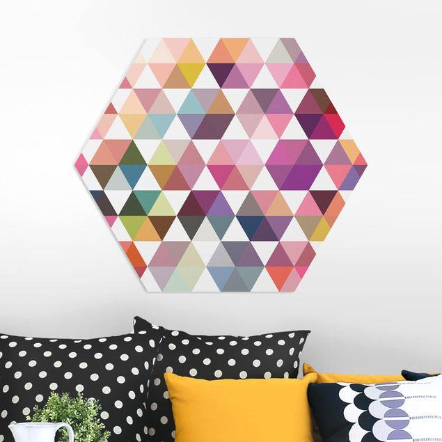 Hexagon Bild Forex - Hexagon Facetten