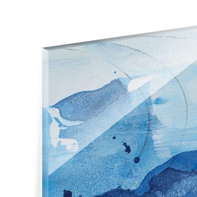 Glas Spritzschutz - Nordküste I - Querformat - 4:3