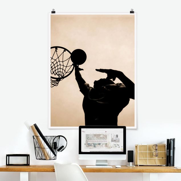 Poster - Basketball - Hochformat 3:4