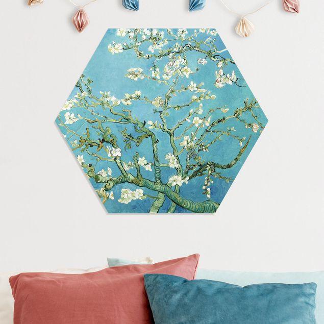 Hexagon Bild Forex - Vincent van Gogh - Mandelblüte