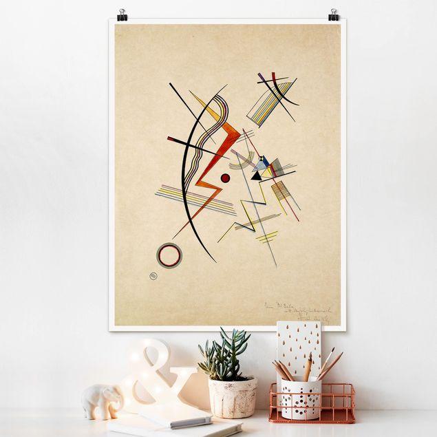 Poster - Wassily Kandinsky - Jahresgabe - Hochformat 3:4