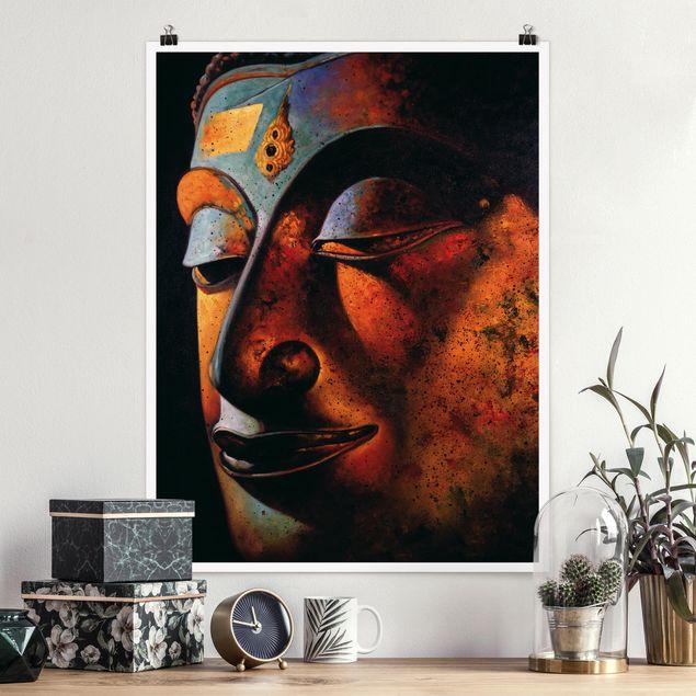 Poster - Bombay Buddha - Hochformat 3:4
