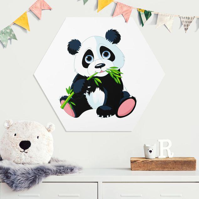 Hexagon Bild Forex - Naschender Panda