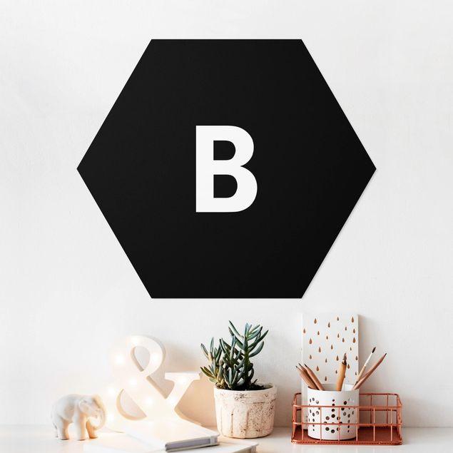 Hexagon Bild Forex - Buchstabe Schwarz B