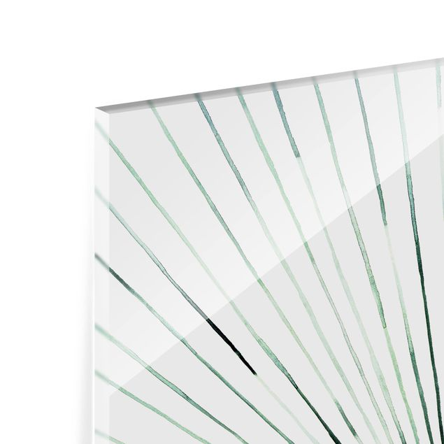 Glas Spritzschutz - Stroboskop - Querformat - 4:3