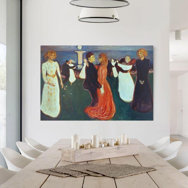 Leinwandbild - Edvard Munch - Der Tanz des Lebens - Querformat 2:3