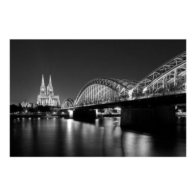 Fototapete Köln bei Nacht II