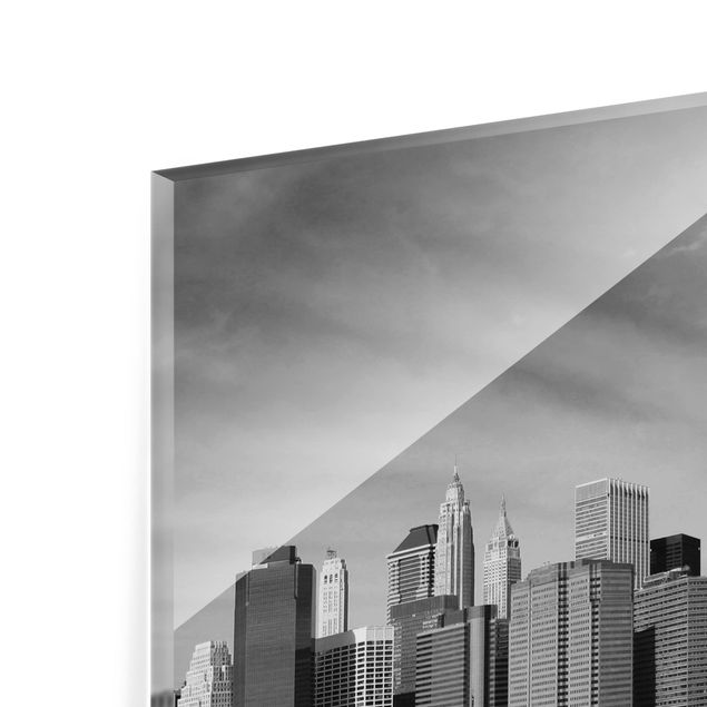Glas Spritzschutz - Ta:itrip to the other Side - Quadrat - 1:1