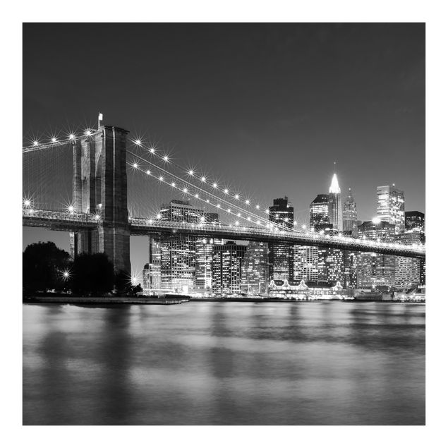 Fototapete Nighttime Manhattan Bridge II
