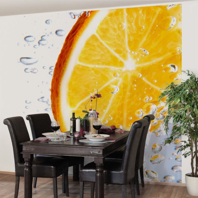Fototapete Splash Orange