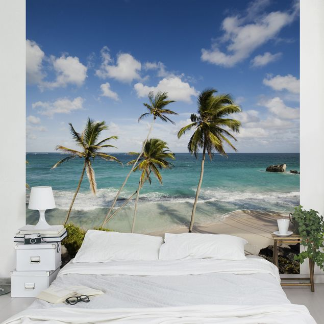 Fototapete Beach of Barbados