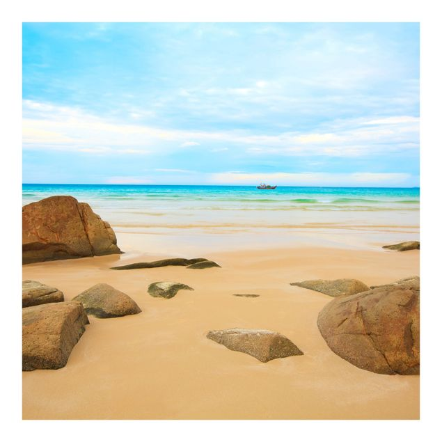Fototapete Rocky Beach