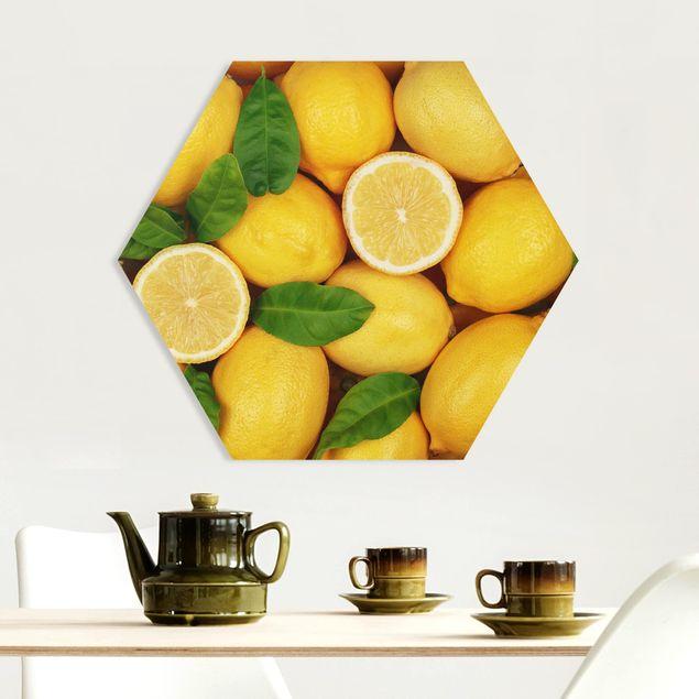 Hexagon Bild Forex - Saftige Zitronen