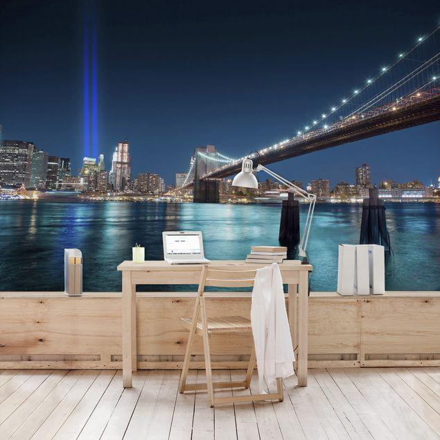 Fototapete Lichter des World Trade Centers
