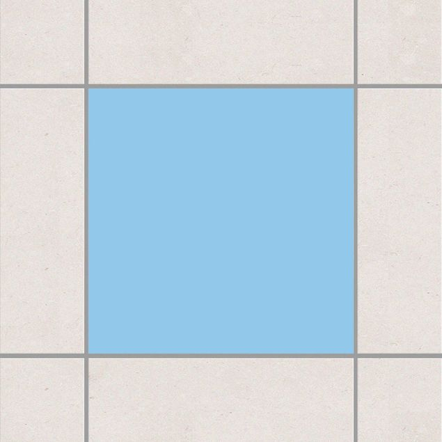 Fliesenaufkleber - Colour Light Blue Blau