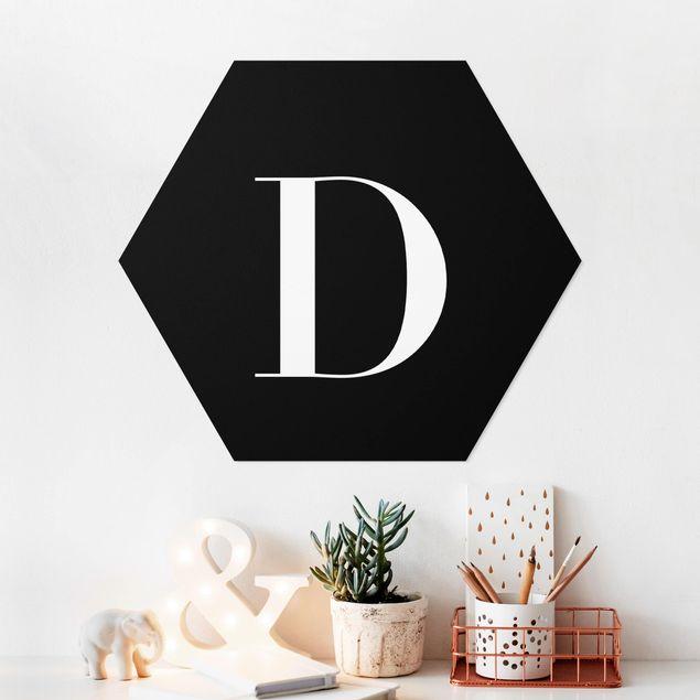 Hexagon Bild Forex - Buchstabe Serif Schwarz D