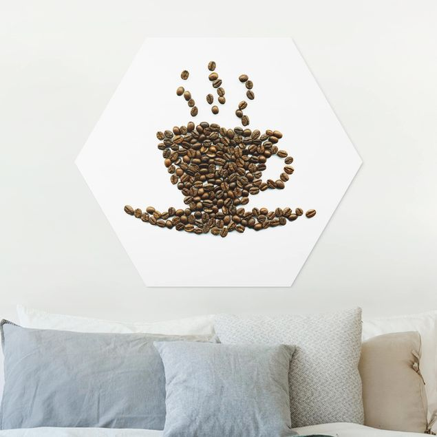 Hexagon Bild Forex - Coffee Beans Cup