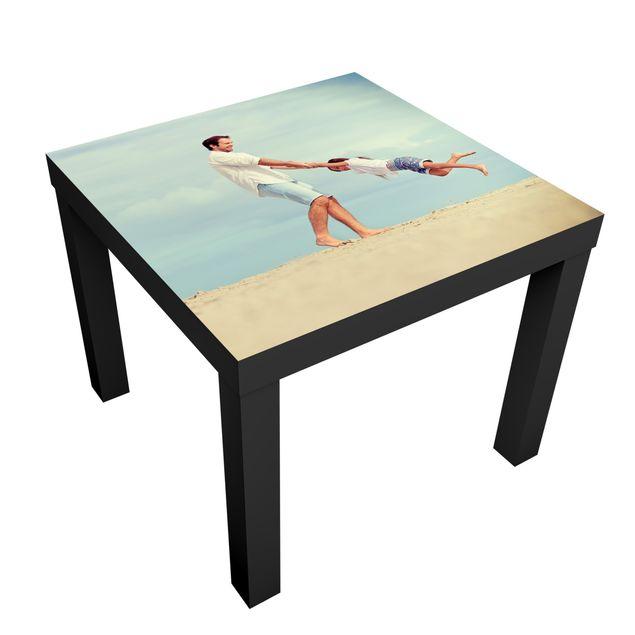 Möbelfolie für IKEA Lack Tisch selbst gestalten