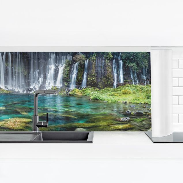 Küchenrückwand - Shiraito Wasserfall