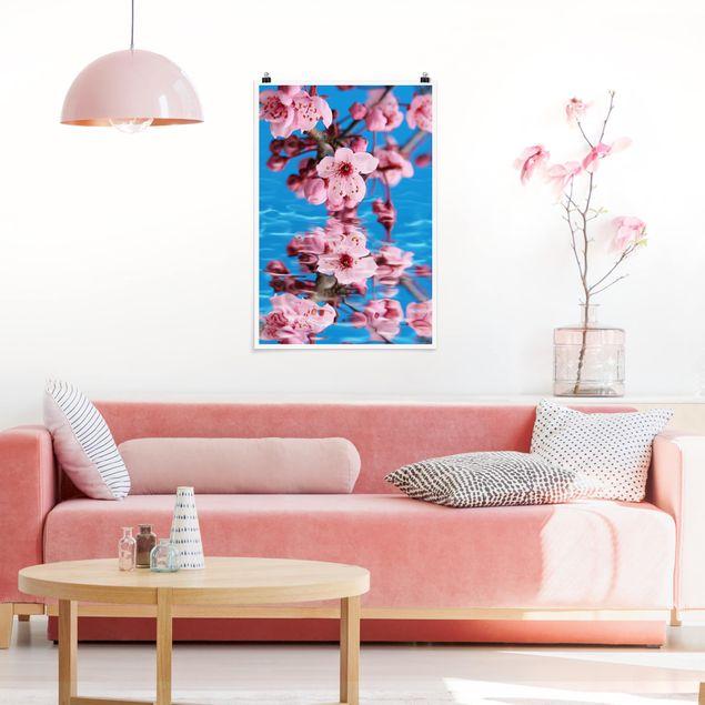 Poster - Kirschblüte - Hochformat 3:2