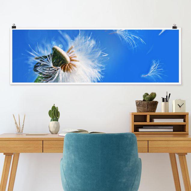 Poster - Blown away - Panorama Querformat