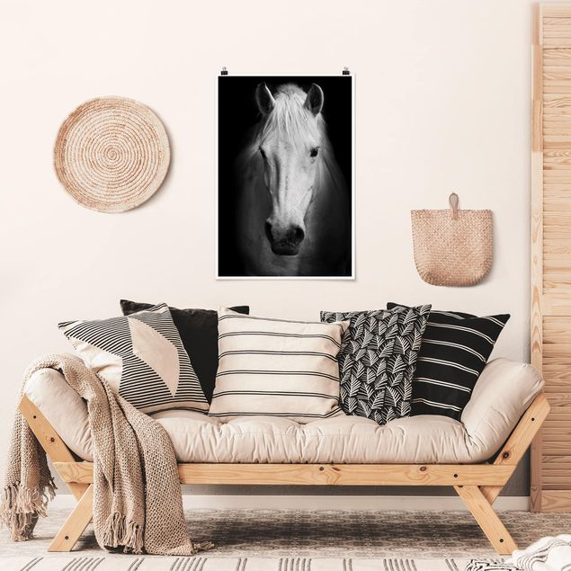 Poster - Dream of a Horse - Hochformat 3:2