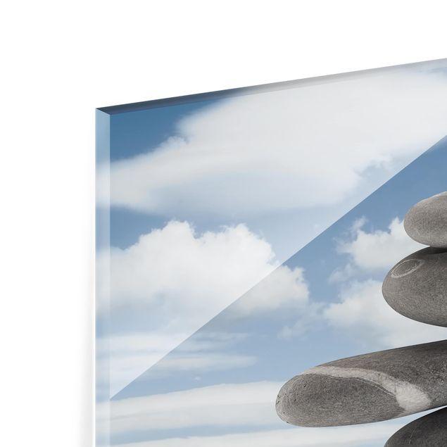 Glas Spritzschutz - In Balance - Querformat - 4:3