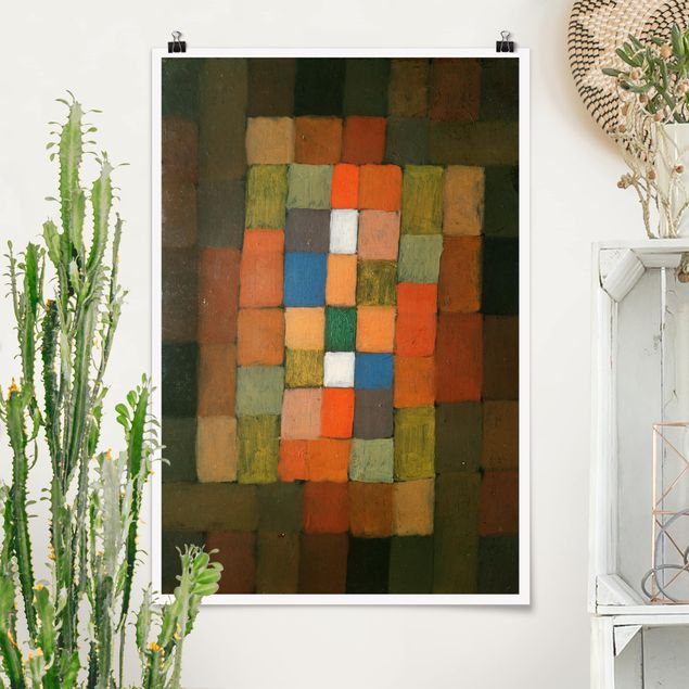Poster - Paul Klee - Steigerung - Hochformat 3:2