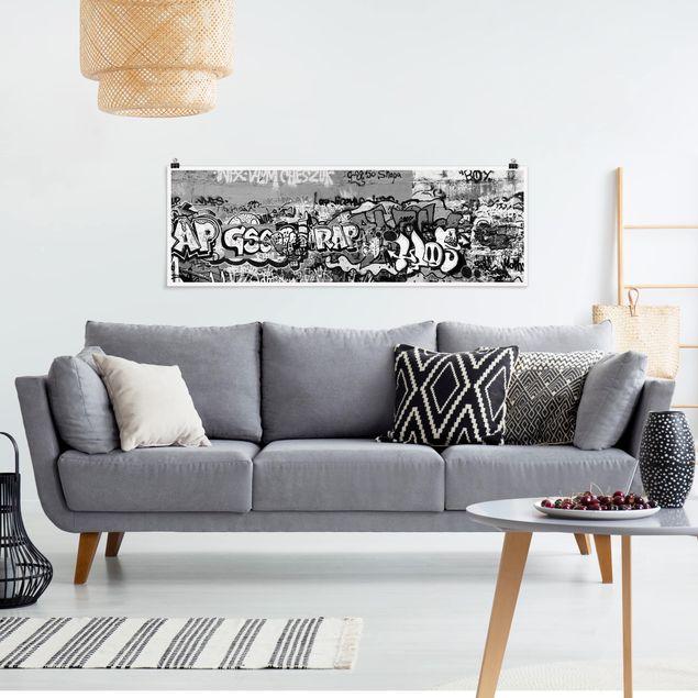 Poster - Graffiti Art - Panorama Querformat