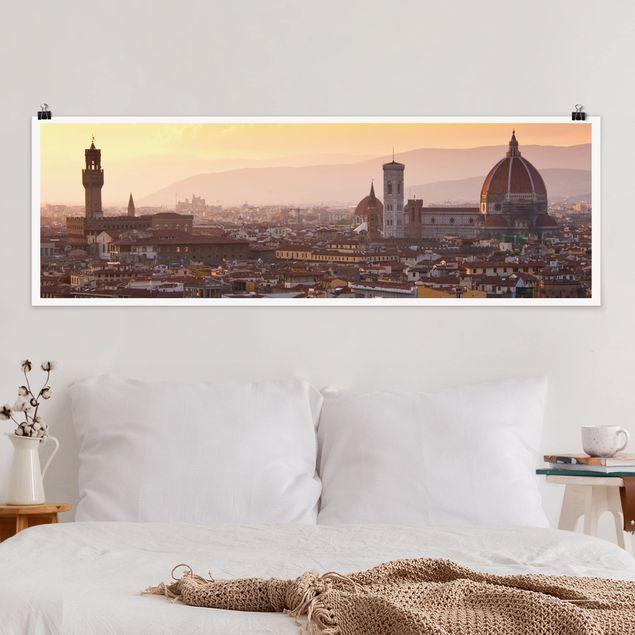 Poster - Florenz - Panorama Querformat