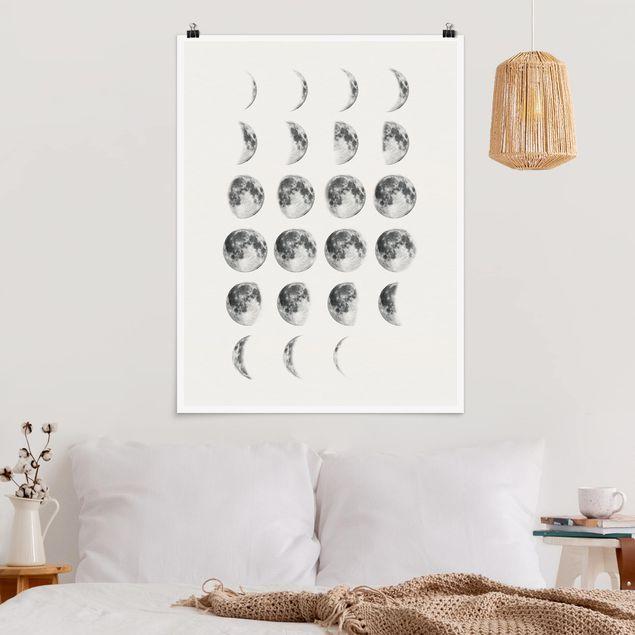 Poster - La Luna - Hochformat 3:4