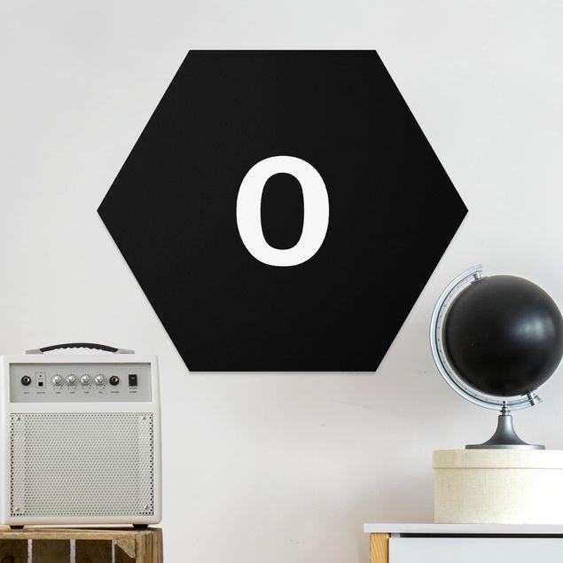 Hexagon Bild Forex - Buchstabe Schwarz O