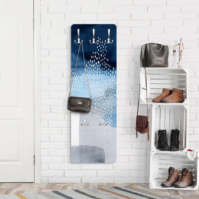 Garderobe - Abstrakter Wasserfall