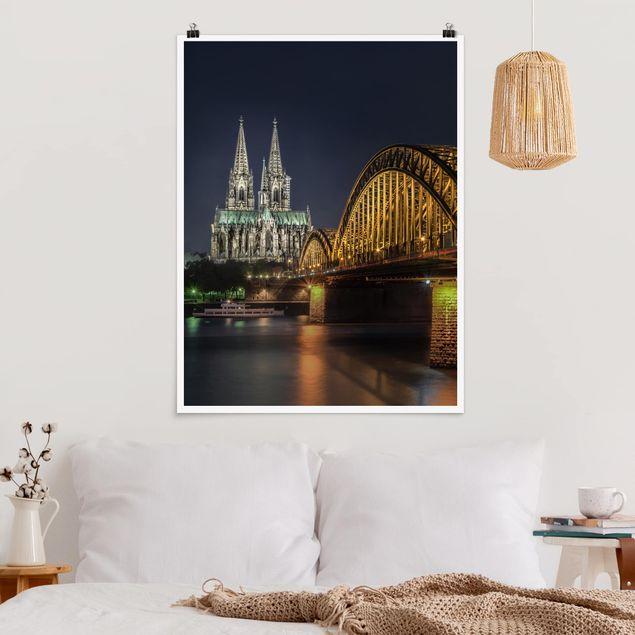 Poster - Kölner Dom - Hochformat 3:4