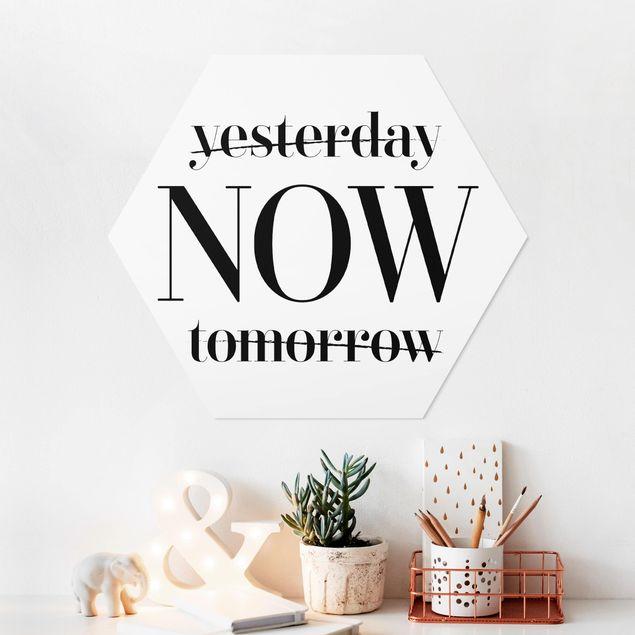Hexagon Bild Forex - Yesterday NOW tomorrow