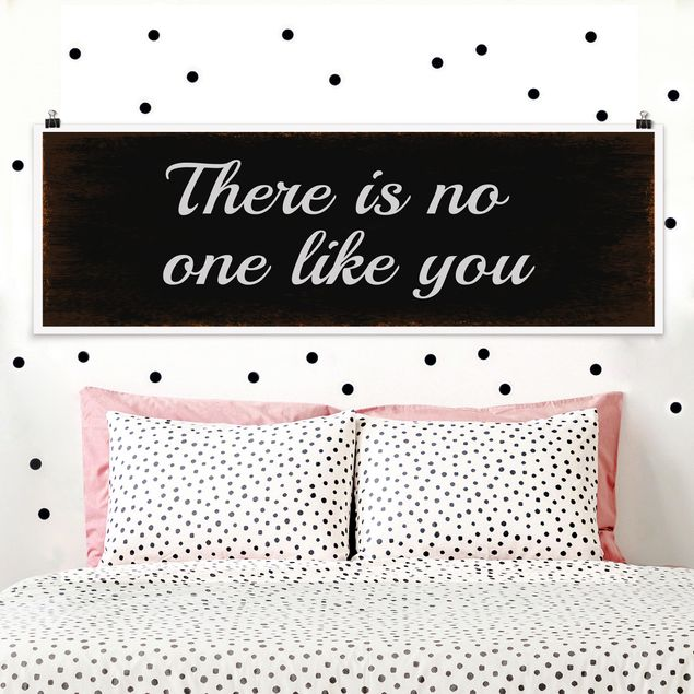 Poster - No.KA15 No One Like You - Panorama Querformat