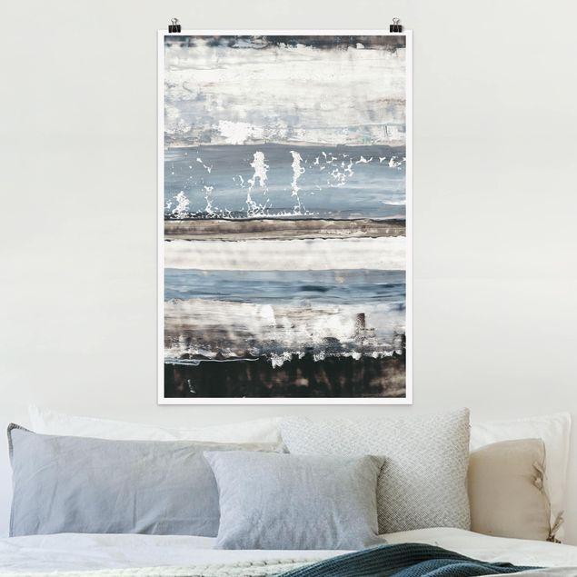 Poster - Eisiger Horizont I - Hochformat 3:2