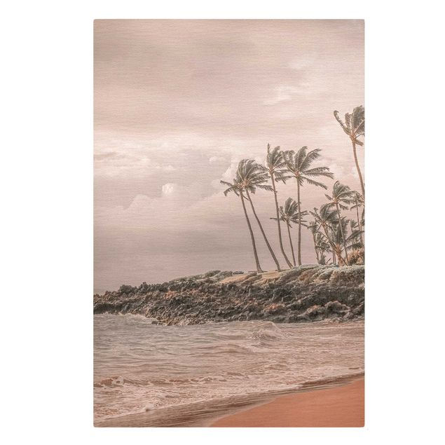 Leinwandbild - Aloha Hawaii Strand II - Hochformat 2:3