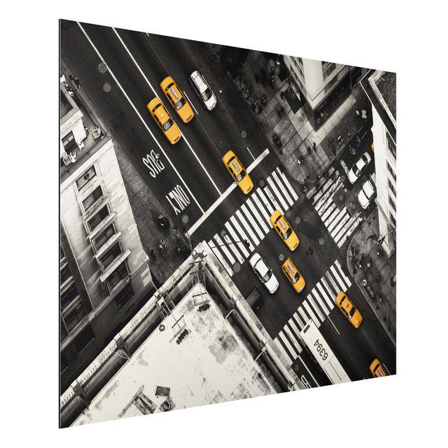 Aluminium Print - New York City Cabs - Querformat 3:4
